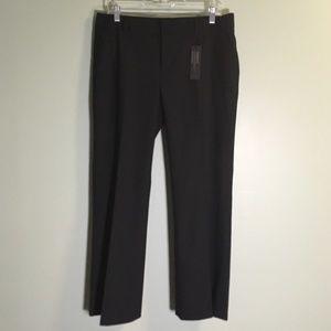 NWT Banana Republic Martin Fit Trouser Black 10P